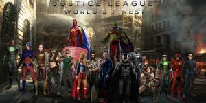 Justice League : World's Finest by Asthonx1