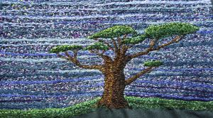 Embroidered tree by oceanstarr