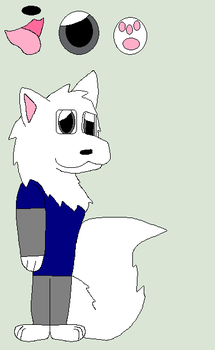 Whitefangs The Wolf(RQ) by cartoonlover307