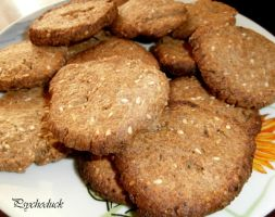 Wholegrain crackers by nikinik666