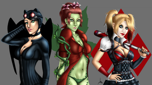 Gotham City Sirens by MissMinority