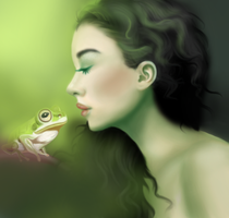 The Princess and The Frog by Charlynd
