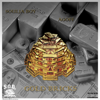 EP Cover art i made for AgoffxSouljaboy Gold Brick by C-Lo-2012