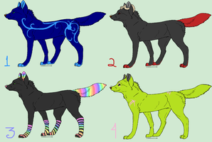 Adoptables 5points -open- by wearetheakatsuki