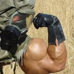 Musclemorphed Military Hunk: The Chemical Spill by free42dream