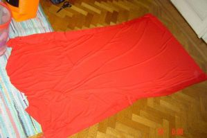Sheryl's red dress in process by Die-Rose
