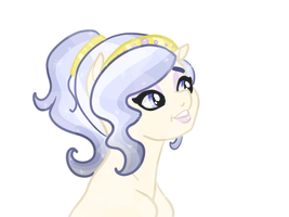 Opalescent Pearl Bust by TenderLumpkins