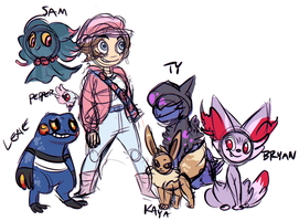 POKEMON by coulrophiliacs