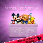 Disney Icons Box mas 6  iconos by tuyagure456