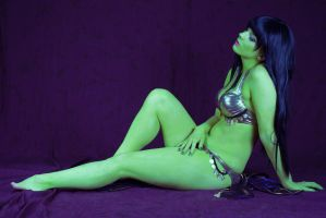 Orion Slave Girl by KawaiiHero91