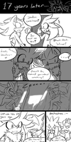 ~Meeting at their birthday 2~ (SUPER LATE PAGE.) by SilverfanNumberONE