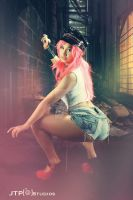 Poison - The Street Fighter with Mandy M Thompson by TREXMAN