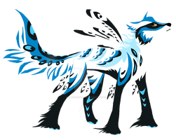 Wolf auction by TaraviAdopts