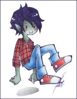 Marshall Lee by FloksyLocksy