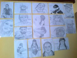 My wall of fame by patrycjaap94