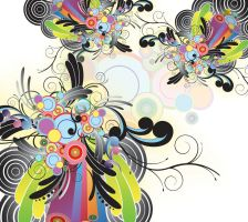 Abstract Swirl Design by ozaidesigns