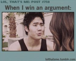 When I win an argument by cosenza987