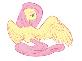 Fluttershy header by peachiekeenie