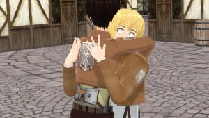 eren and armin mmd by petshop18