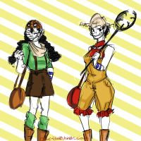 Fun with Genderbends: Usopp by Sogequeen2550
