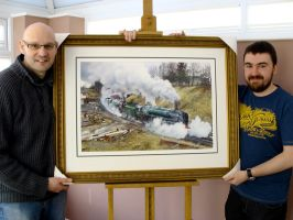Framed Epic painting by jamesgreen