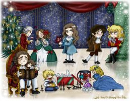 X-mas at Versailles by RedPassion