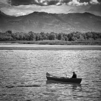 Lake Constance fisherman by TotoTortellini