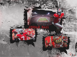 Jordan Hall Wallpaper by KevinsGraphics