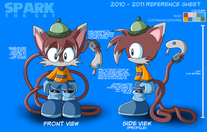 Spark the Cat Ref 2010-2011 by wisp2007