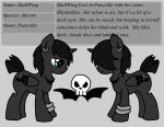 Skull wing ref page by twins6292