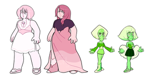 rose and peridot adopts (CLOSED) by lymerikk