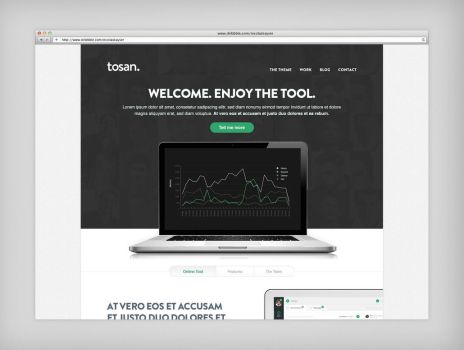 Tosan Wordpress Theme by cPl92