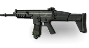 MW3: SCAR-L by FPSRussia123