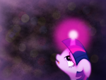 [Wallpaper] Twilight Hope by WolfInMyEyes