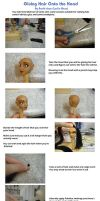 OLD Doll Hair Tutorial for Sculpts by aachi-chan