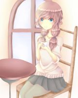 Warm Cafe .:SPEEDPAINT:. by Yupina-tan