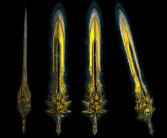 blade of olympus god of war by rubenvoorhees1
