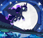 Paper Moon by PixelKitties