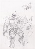 Hulk OzComics Weekly Draw-off by Grange-Wallis