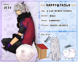Happy Tails - Jett the Samoyed by TaeYiiNG