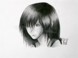 Kairi - Charcoal by Kagamikage