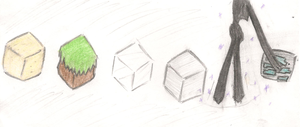 Minecraft Blocks by AmbiguouslyAwesome1
