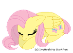 Journal Buddy - Sleeping Fluttershy by InuHoshi-to-DarkPen