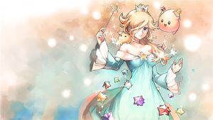 Mario: Rosalina Wallpaper by katjarvan