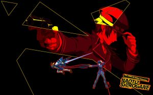 Naoto - Persona 4 Arena Wallpaper for PC / PS3 by seraharcana