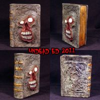 Necronomicon Bank ooak by Undead-Art