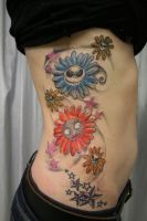 Tattoo Jack Sally Flowers by 2Face-Tattoo