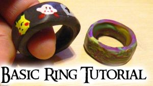 Basic Ring Tutorial (video) NO METAL BASE!! by NerdEcrafter