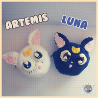 Crochet Amigurumi Purses From SailorMoon by Tofe-lai