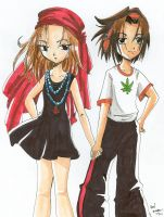 Anna and Yoh by Tamao